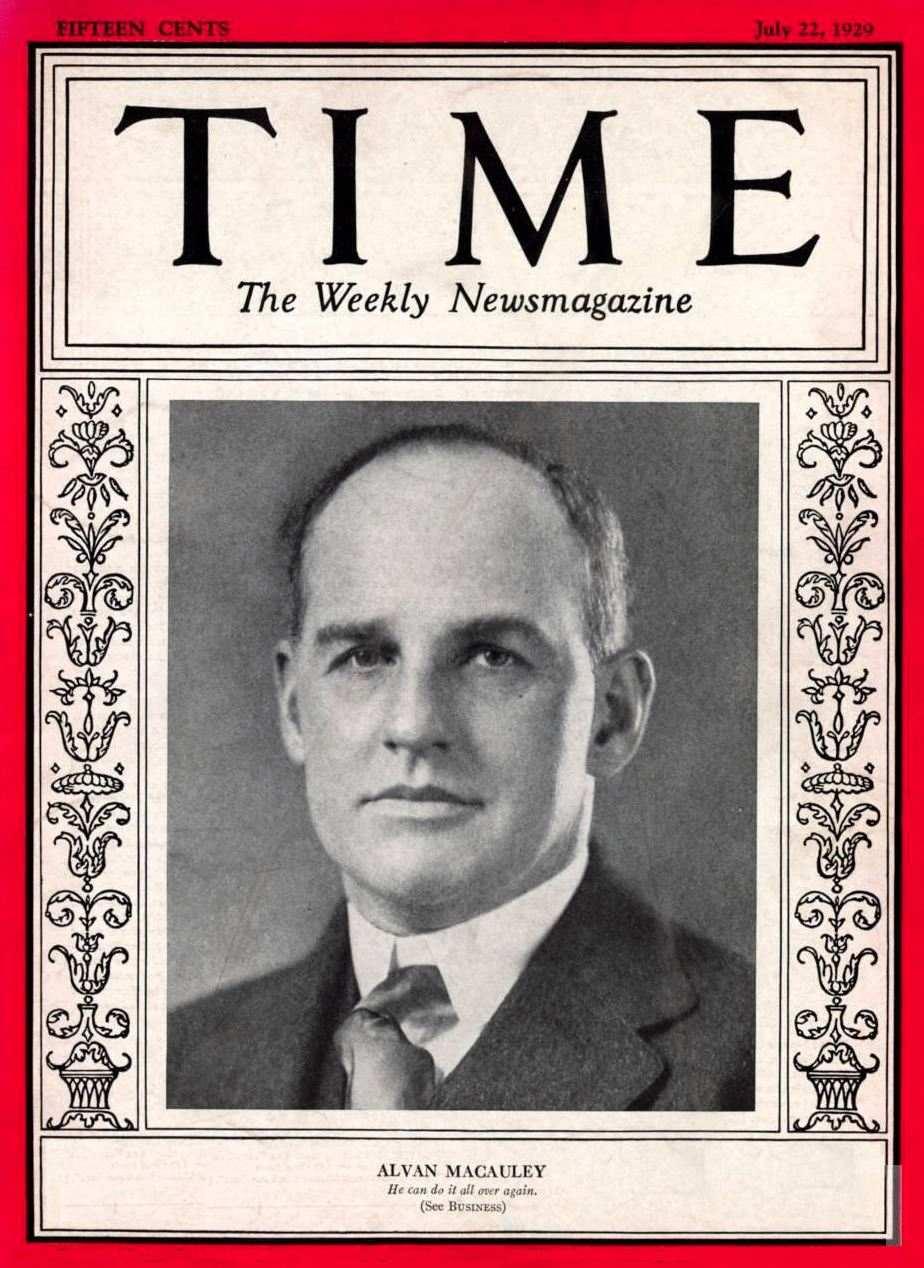 du Time le 22 juillet 1929