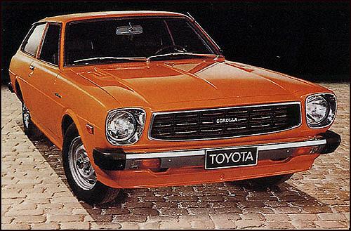 Toyota vanhat mallit