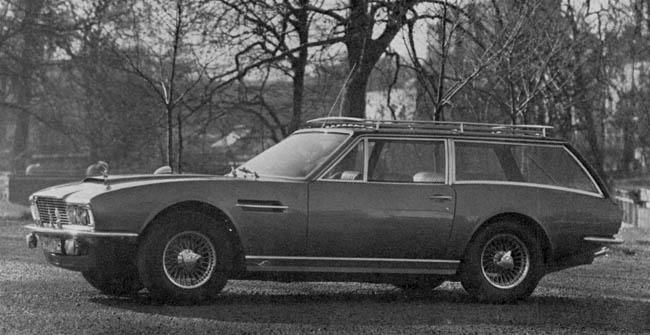 Aston Martin : Leurs Shooting Brake Sw918