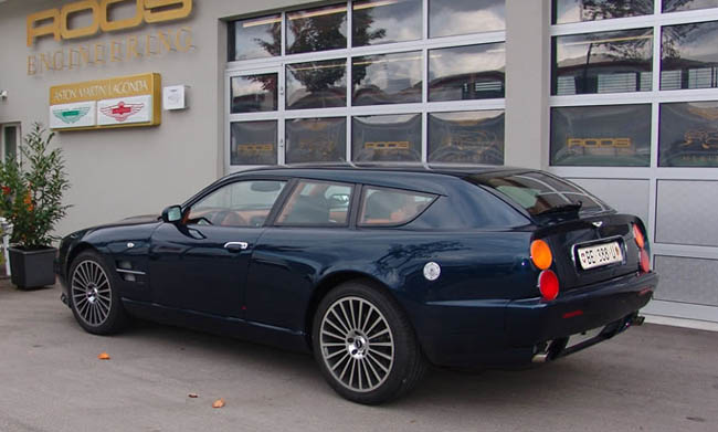 Que des Aston Martin Sw928